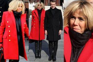Brigitte Macron w skórzanych spodniach i płaszczu za 20 TYSIĘCY towarzyszy mężowi w Chinach (ZDJĘCIA)