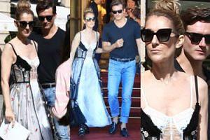 49-letnia Celine Dion z 32-LETNIM KOCHANKIEM (?) w Paryżu (ZDJĘCIA)