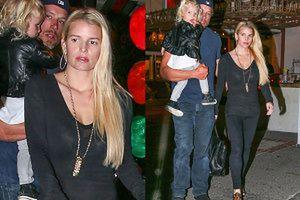 SZCZUPŁA Jessica Simpson z córką!