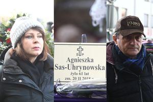 Dygant, Trojanowska, Stockinger i inni na pogrzebie Agnieszki Kotulanki (ZDJĘCIA)
