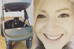 Szelągowska chwali się wózkiem dla córki za 4,5 tysiąca złotych! Jeżdżą w nim... JEJ KOTY (FOTO)