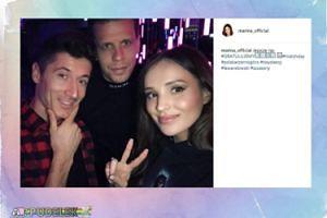 Marina pochwaliła się zdjęciem z Robertem Lewandowskim