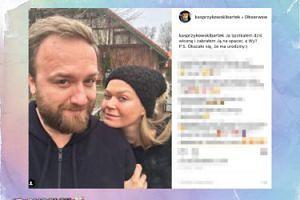 """Bartek Kasprzykowski: """"Spotkałem dziś wiosnę i zabrałem ją na spacer"""""""