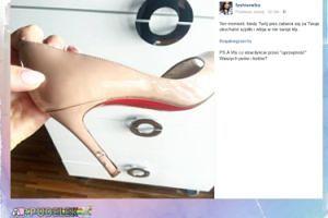 Fashionelka żali się. Pies pogryzł jej buty