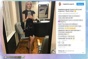 Magdalena Ogórek chwali się nowym selfie