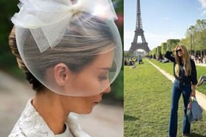 """Lady Rozenek"" spaceruje po Paryżu. Wygląda jak dama?"