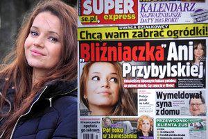 """""""Super Express"""" znalazł... """"bliźniaczkę Anny Przybylskiej"""""""