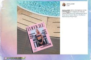 Dziewczyna Milika poleca magazyn z Maffashion