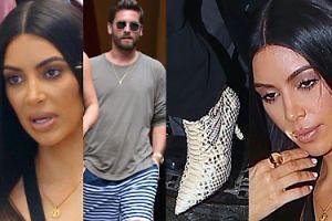Kim Kardashian i Scott Disick zabrali fotografów na zakupy (ZDJĘCIA)