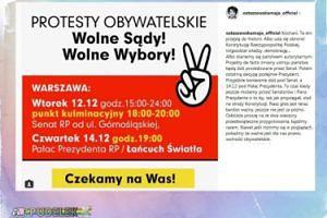 """Maja Ostaszewska wzywa do protestów: """"Te dni przejdą do historii"""""""