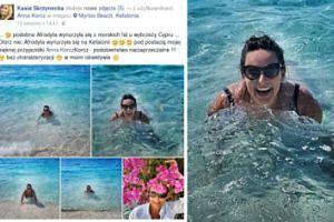 49-letnia Anna Korcz wdzięczy się na plaży