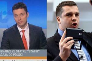 Dziennikarze TV Republika chcieli wyrzucić reportera Polsatu spod budynku! Wezwali policję