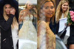 Zadowolona Kubicka przymierza suknie ślubne (ZDJĘCIA)
