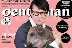 """Maleńczuk na okładce magazynu: """"Lubię się ześwinić"""""""