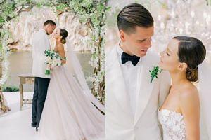 Marina i Wojtek Szczęsny pochwalili się zdjęciami ze ślubu! (FOTO)