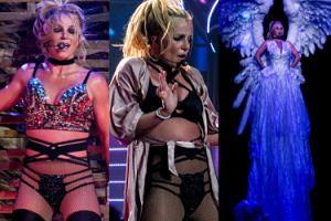 Szczęśliwa Britney wczuwa się na ostatnim koncercie w Las Vegas (ZDJĘCIA)
