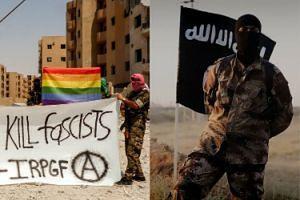 """W Syrii działa... gejowska bojówka walcząca z ISIS! """"Te pe*ały zabijają faszystów"""""""