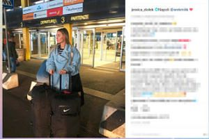 Jessica Ziółek i jej wielkie walizki lecą do Milika