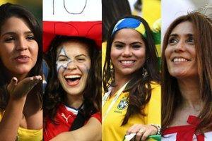 Seksowne dziewczyny na Mundialu w Brazylii! (ZDJĘCIA)