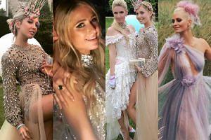 """Tak światowe """"elity"""" bawiły się na 21. urodzinach greckiej księżniczki (ZDJĘCIA)"""