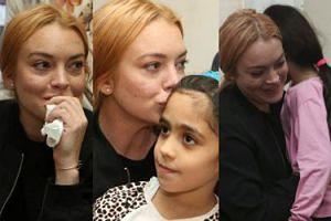 """Lindsay Lohan odwiedziła syryjskich uchodźców: """"Powinniśmy zacząć od wspierania Turcji!"""" (FOTO)"""