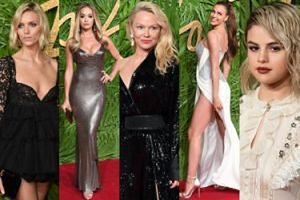 Tłum gwiazd na The Fashion Awards: Pamela Anderson, Irina Shayk, Selena Gomez, Rita Ora, Anja Rubik... (DUŻO ZDJĘĆ)