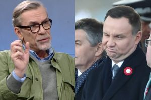 """Rozczarowany Żakowski: """"Andrzej Duda wrócił do korytarza i siedzi jako Adrian!"""""""