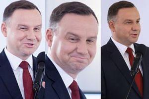 """Uśmiechnięty Andrzej Duda opowiada o """"technologiach przyszłości"""" (ZDJĘCIA)"""