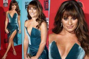 Lea Michele rok po śmierci Cory'ego! (ZDJĘCIA)