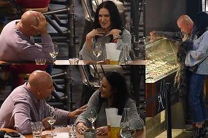 Kayah na randce (?) z mężem Kasi Figury