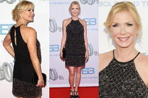 """55-letnia (!) Brooke z """"Mody na sukces"""" świętuje 30-lecie serialu w krótkiej sukience (ZDJĘCIA)"""