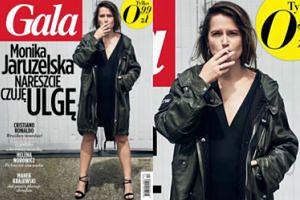 """Monika Jaruzelska """"czuje ulgę"""" na okładce """"Gali""""..."""