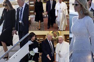 Donald Trump z Melanią na audiencji u Franciszka! (ZDJĘCIA)