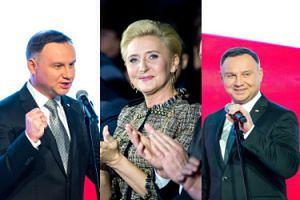 Urocze miny Andrzeja i Agaty Dudów na noworocznym spotkaniu Rodziny Olimpijskiej (ZDJĘCIA)