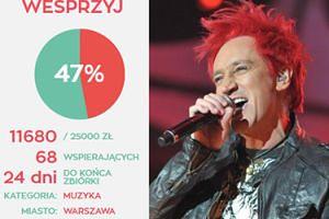 """Wiśniewski PROSI LUDZI O PIENIĄDZE na nową płytę: """"Chcemy zebrać 25 tysięcy złotych. Pomożecie?"""""""