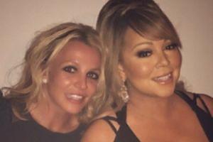 Britney Spears i Mariah Carey pozują razem