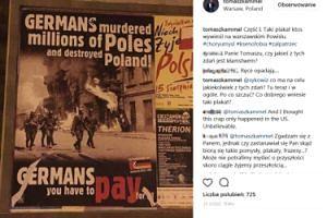 """OBURZONY Kammel o antynazistowskim plakacie: """"Ksenofobia, żal patrzeć!"""""""