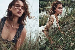 "Emilia Clarke w ""Dior Magazine"" (GALERIA)"