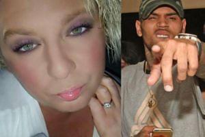 """Chris Brown znów rozrabia. """"Nazwał mnie sztuczną blondyną i grubą su*ą"""""""