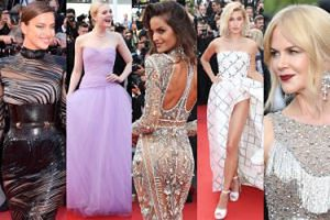 Cannes 2017: Nicole Kidman, Irina Shayk, noga Hailey Baldwin i parada modelek (ZDJĘCIA)