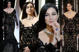 PIĘKNA Monica Bellucci zamyka Festiwal w Cannes (ZDJĘCIA)