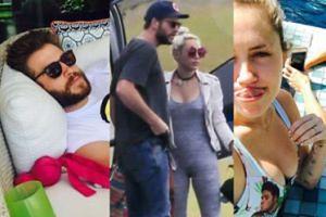 Miley Cyrus i Liam Hemsworth już po ślubie? (FOTO)