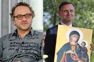 """Andrzej Duda odda narządy do przeszczepu. Najsztub żartuje: """"Nie możemy przeszczepiać relikwii!"""""""