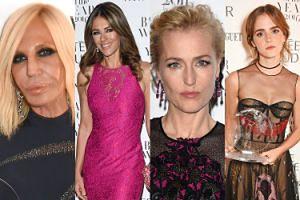 "Emma Watson, Gillian Anderson i Donatella Versace na imprezie ""Harper's Bazaar"" (ZDJĘCIA)"