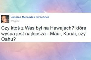 Jessica Mercedes rozmyśla nad wakacjami...