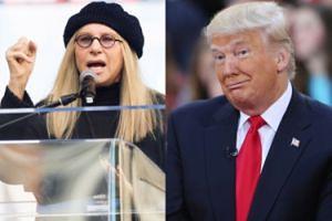 """Barbra Streisand oskarża Trumpa o... przytycie! """"Po porannych wiadomościach musiałam zjeść naleśniki z syropem klonowym"""""""