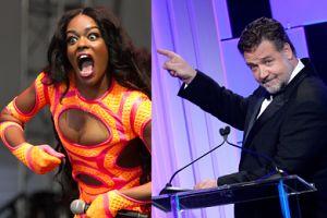 """Russell Crowe WYRZUCIŁ Z IMPREZY Azealię Banks! """"Nazwał mnie czarnuchem, dusił i opluł"""""""