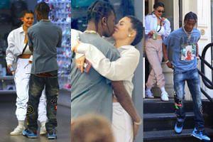 Kylie Jenner i Travis Scott przytulają się w sklepie (ZDJĘCIA)