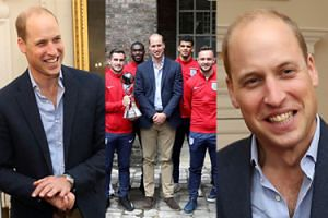 """Książę William promuje sport: """"Też kiedyś miałem dużo zapału..."""" (ZDJĘCIA)"""