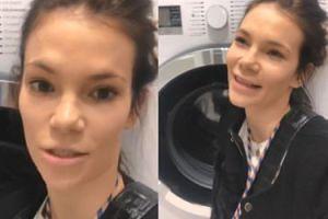 """Bohosiewicz reklamuje pralki i wyznaje: """"Mogłabym całe życie siedzieć w pralni. KOCHAM TO!"""""""